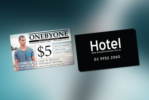 Onebyone '$5 Off' Card